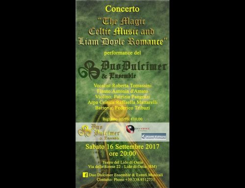 "Ostia, la musica celtica approda al Teatro del Lido con ""The magic Celtic music & Liam Doyle romance"" –"